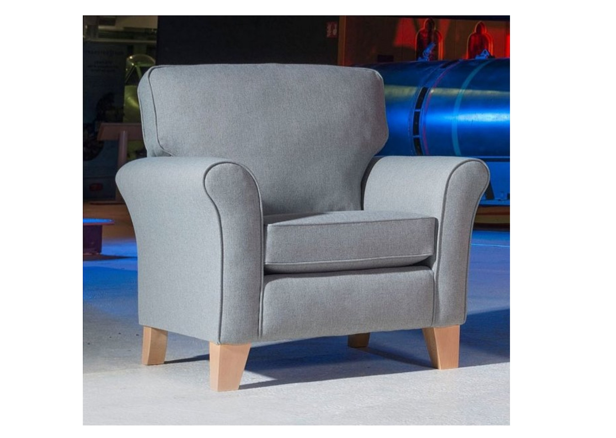 Lancaster Accent Chair – Grand 3 Str 2 Str Snuggler Chair Accent Fabrics In Sadie Ii Swivel Accent Chairs (View 16 of 25)