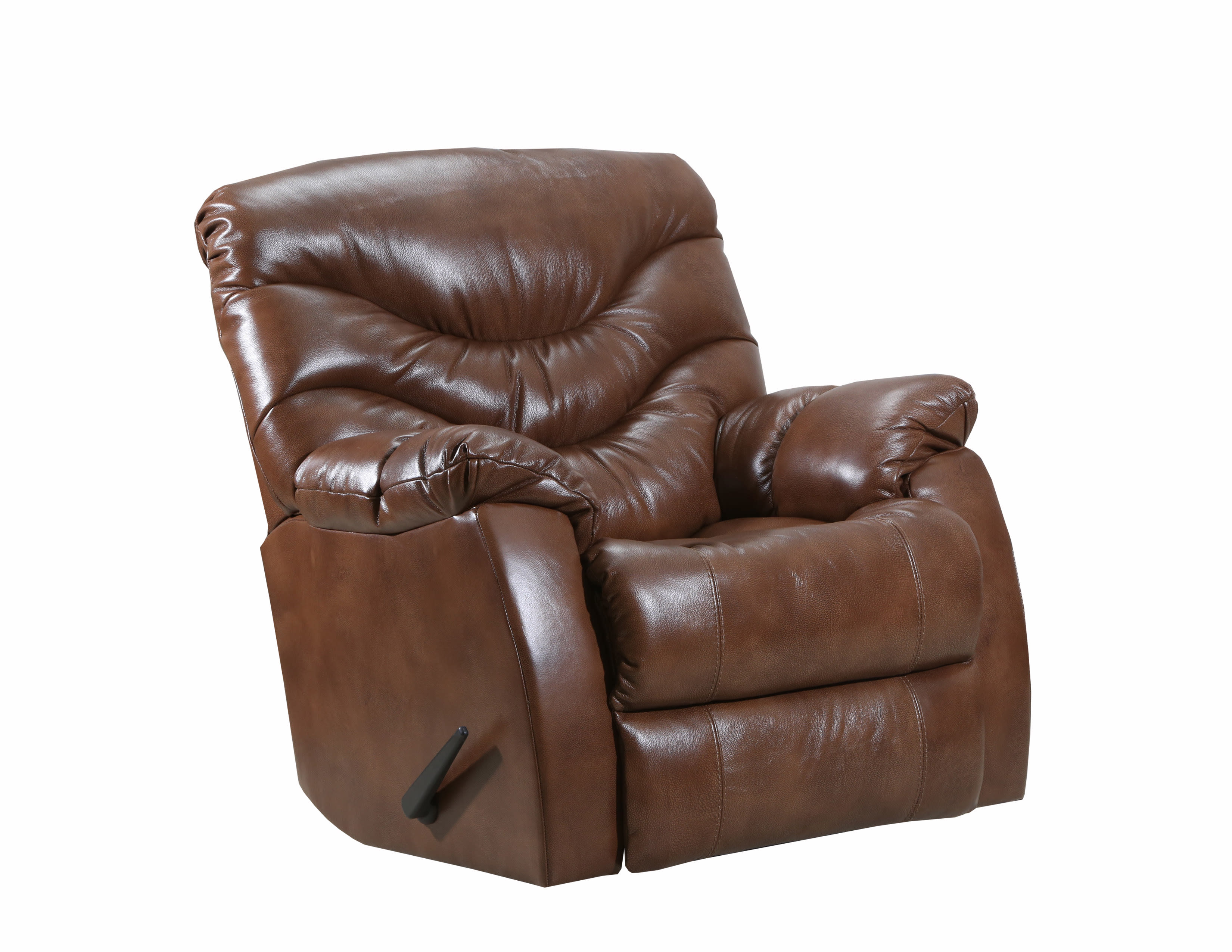 Lane Furniture Yellowstone Tobacco Swivel Rocker Recliner & Reviews Intended For Swivel Tobacco Leather Chairs (View 10 of 25)