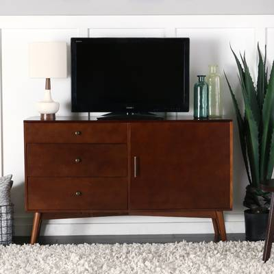 "Langley Street Lauren Tv Stand For Tvs Up To 60"" & Reviews (View 15 of 25)"