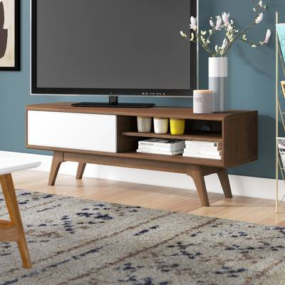 "Langley Street Phoebe Tv Stand For Tvs Up To 43"" & Reviews (View 20 of 25)"