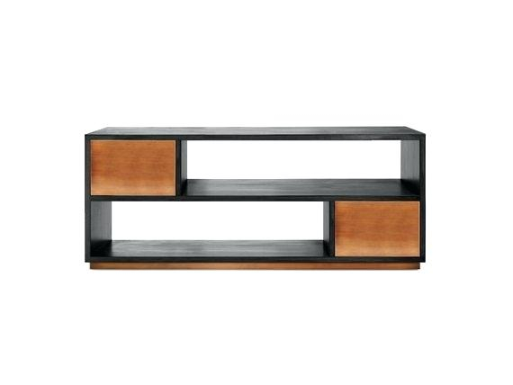 Latest Gunmetal Perforated Brass Media Console Tables Pertaining To Brass Tv Stand Brass Corner Tv Stand – Bookbar (Image 8 of 16)