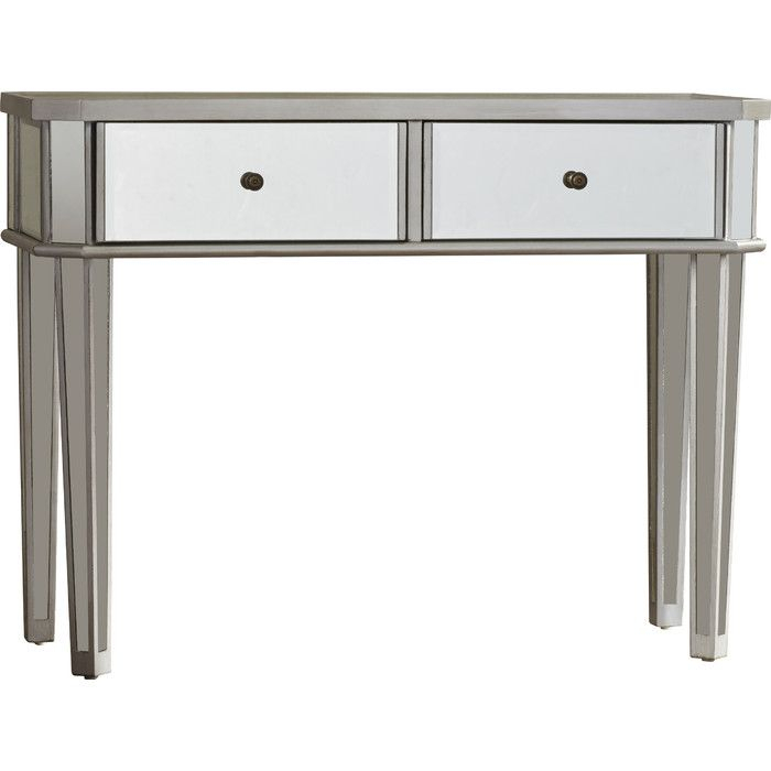 Latest Kyra Console Tables Regarding Kyra Mirrored Console Table & Reviews (View 12 of 25)