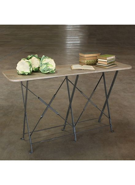 Latest Mix Patina Metal Frame Console Tables Intended For Collection – Areohome (Image 15 of 25)