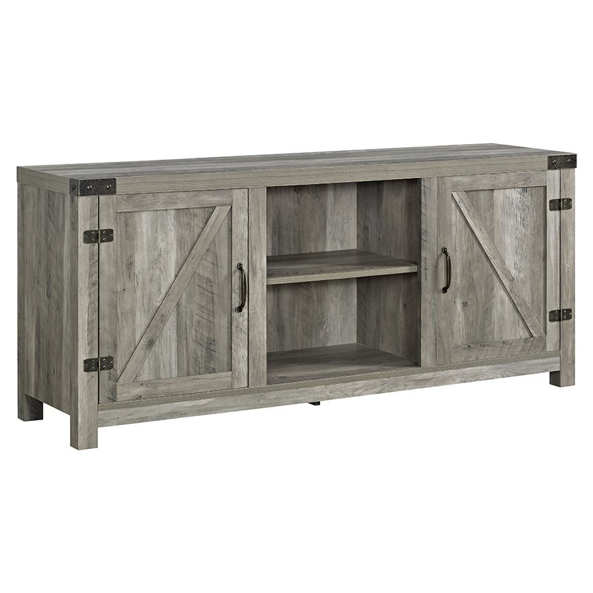 Latest Rowan 74 Inch Tv Stands Pertaining To Buy Grey, 42 – 60 Inches Tv Stands & Entertainment Centers Online At (Image 9 of 25)