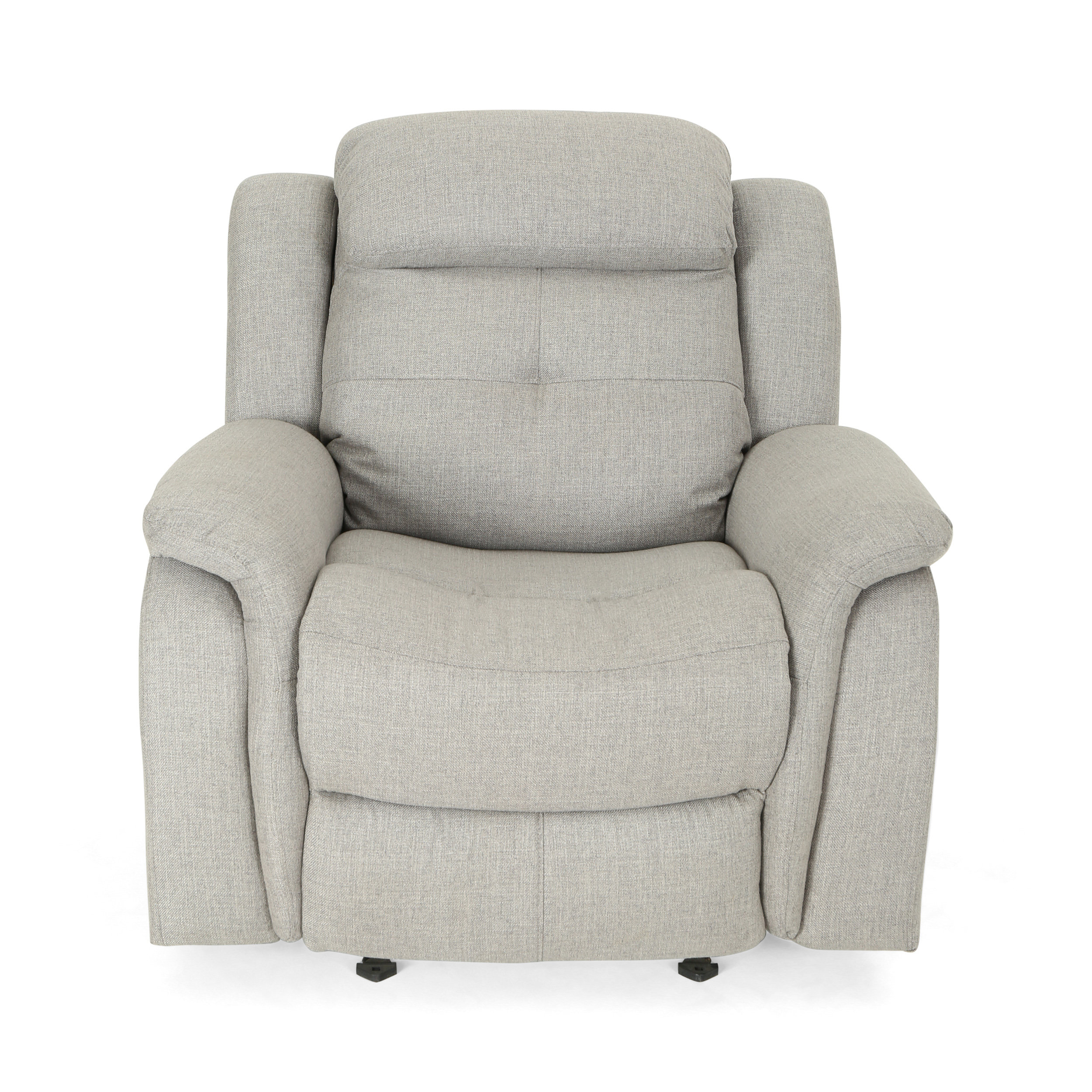 Latitude Run Anndale Traditional Manual Rocking Glider Recliner Throughout Dale Iii Polyurethane Swivel Glider Recliners (Image 14 of 25)