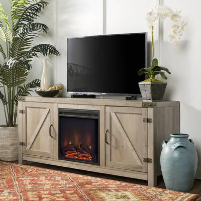 Laurel Foundry Modern Farmhouse Clair Tv Stand For Tvs Up To 66 Throughout Fashionable Casey Grey 66 Inch Tv Stands (Image 13 of 25)