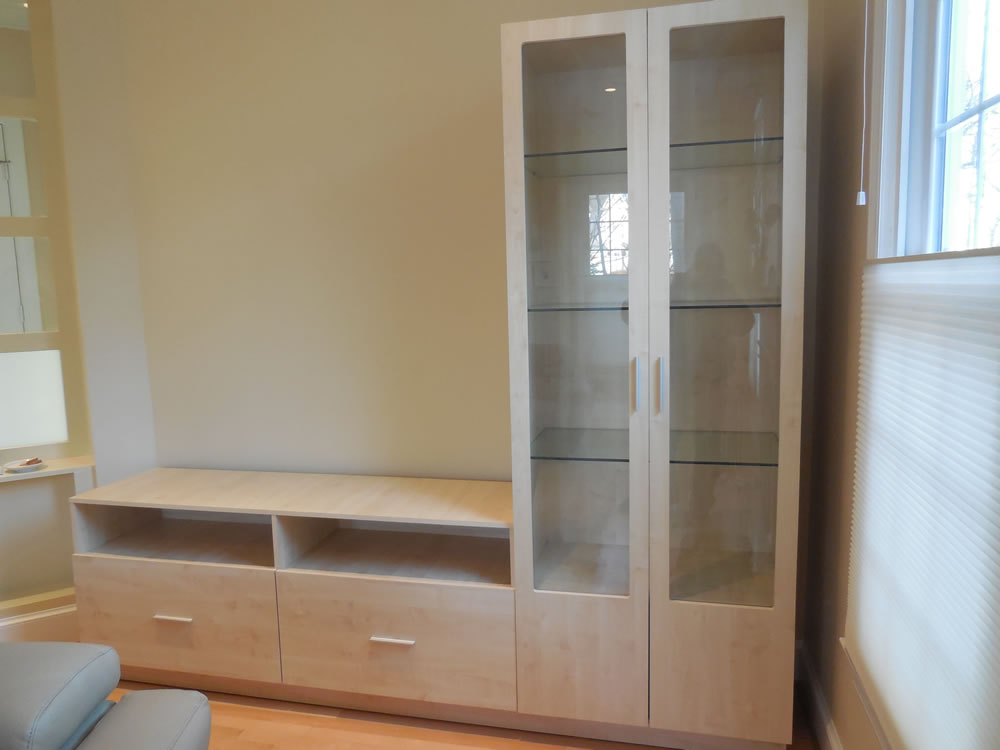 Lawhornestorage Inside Well Known Tv Cabinets With Glass Doors (Photo 20 of 25)