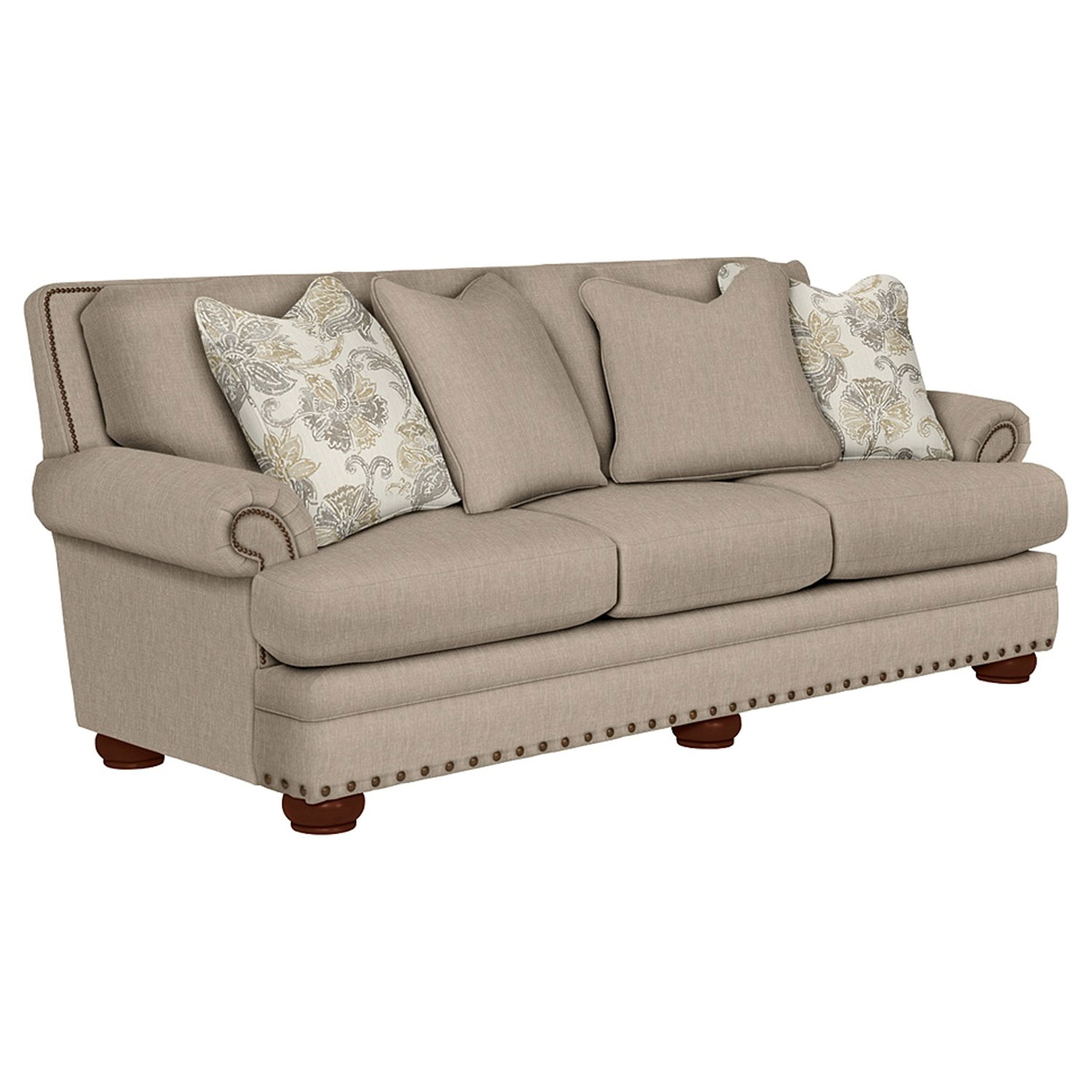 Lazboy 610 657 Brennan Premier Stationary Sofa   Hope Home With Regard To Brennan Sofa Chairs (Image 22 of 25)