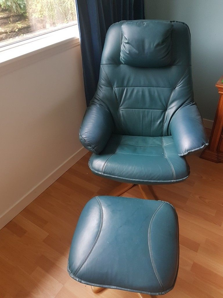 Leather Swivel Chairs N Stools | In Bridge Of Weir, Renfrewshire Pertaining To Katrina Grey Swivel Glider Chairs (View 22 of 25)