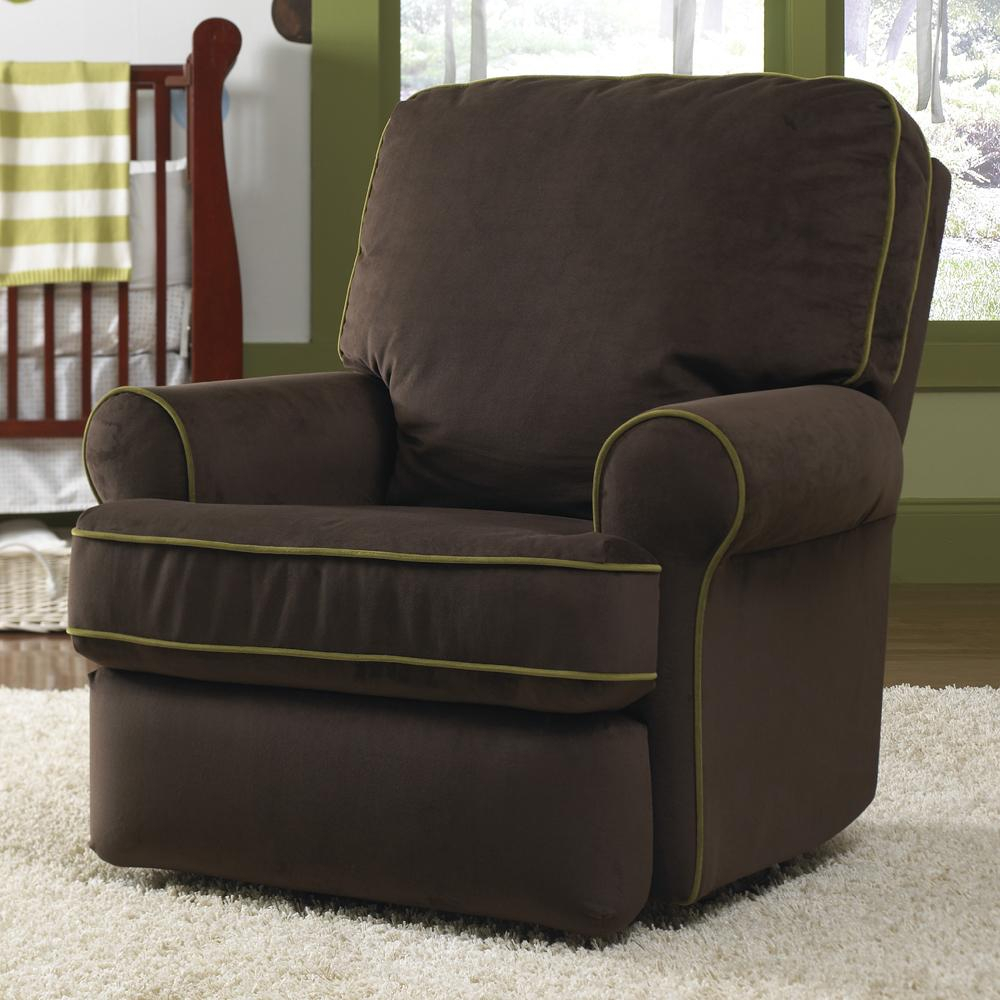 Leather Swivel Glider Chair — Paristriptips Design : Nursery Swivel With Regard To Abbey Swivel Glider Recliners (View 10 of 25)