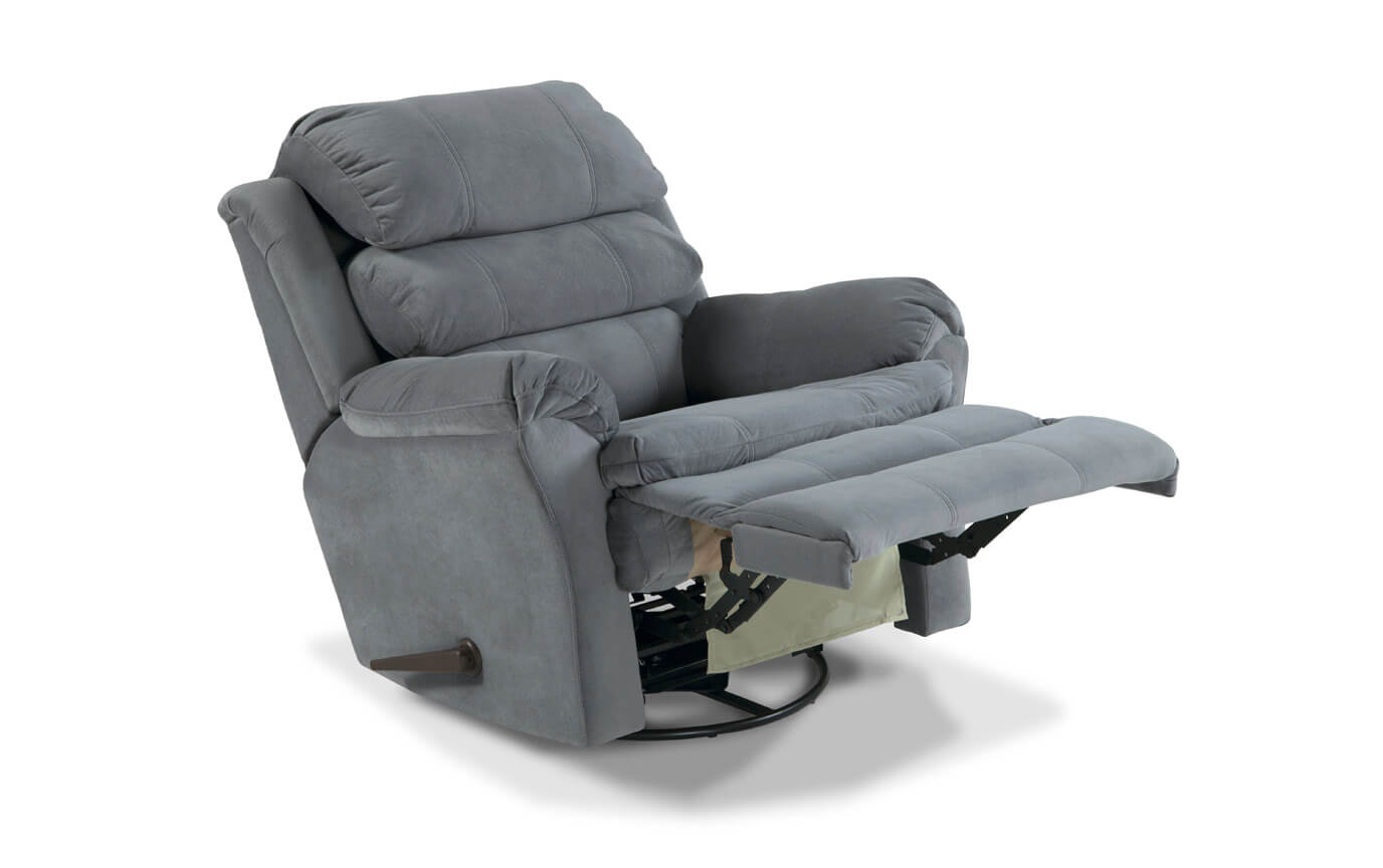 Leather Swivel Rocker Recliner And Its Benefits | With Regard To Decker Ii Fabric Swivel Rocker Recliners (Image 15 of 25)