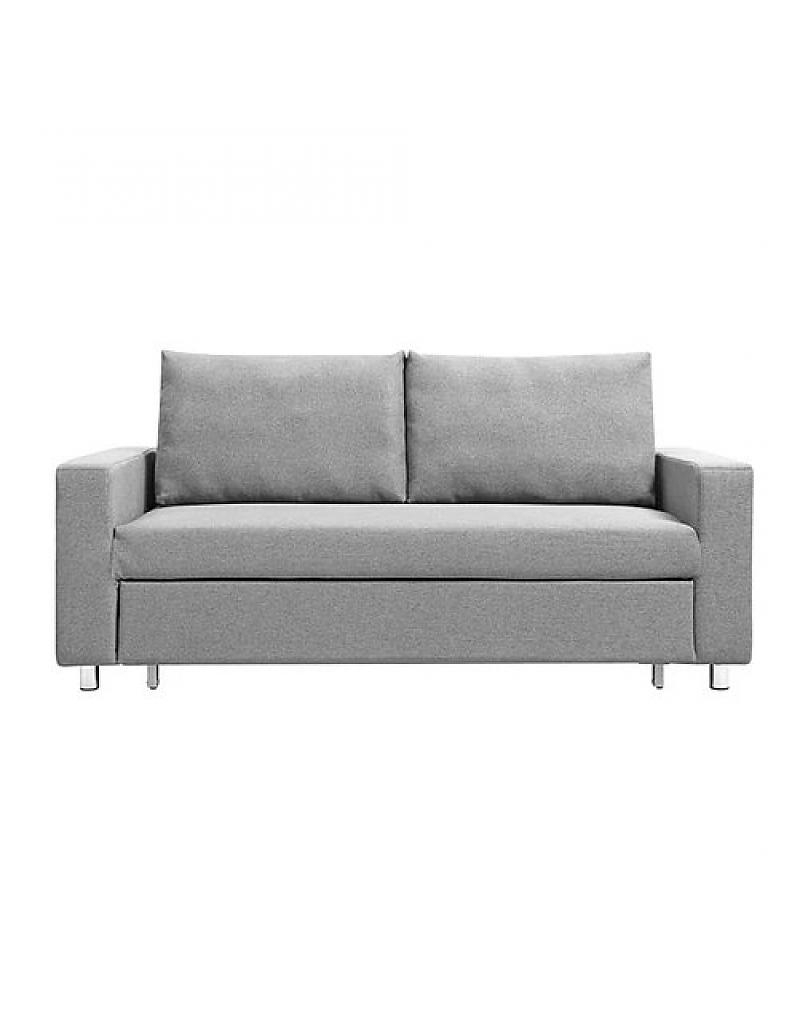 Light Grey Sofa Beds | Tyres2C Throughout Aquarius Dark Grey Sofa Chairs (Image 17 of 25)