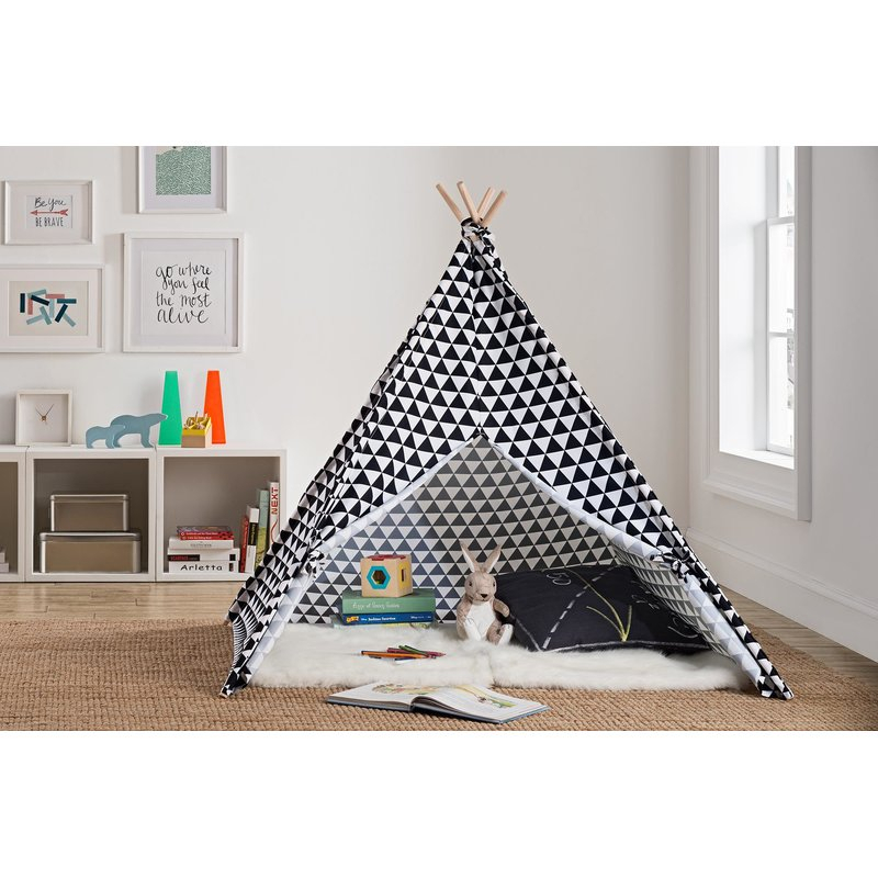 Little Seeds Rowan Valley River Pop Up Play Teepee & Reviews (Image 16 of 25)