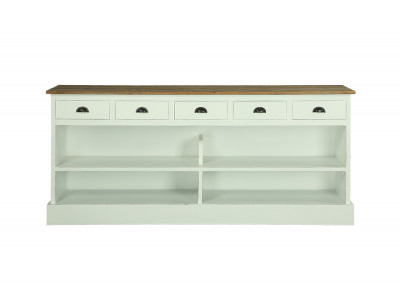 Living For Most Popular Yukon Grey Console Tables (Image 10 of 25)