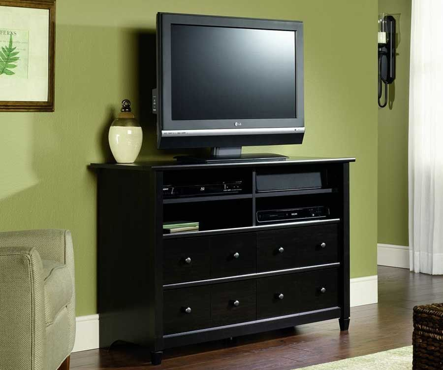Living Room Inside Most Recent Black Tv Cabinets With Drawers (View 9 of 25)