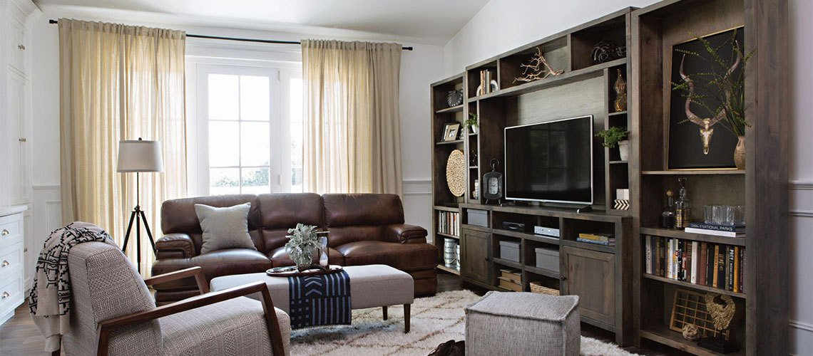 Living Spaces With Regard To Well Liked Sinclair White 68 Inch Tv Stands (View 2 of 19)