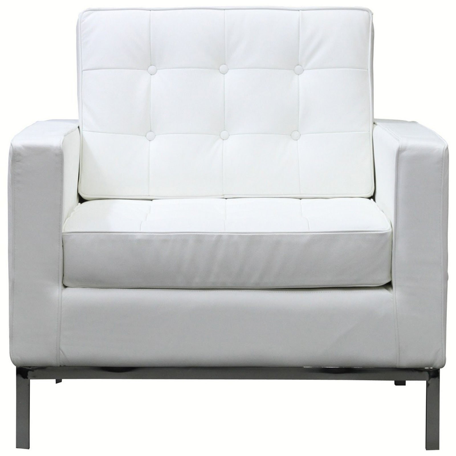 Loft Leather Armchair, Whitemodway Furniture | Sohomod Pertaining To Loft Arm Sofa Chairs (Image 13 of 25)