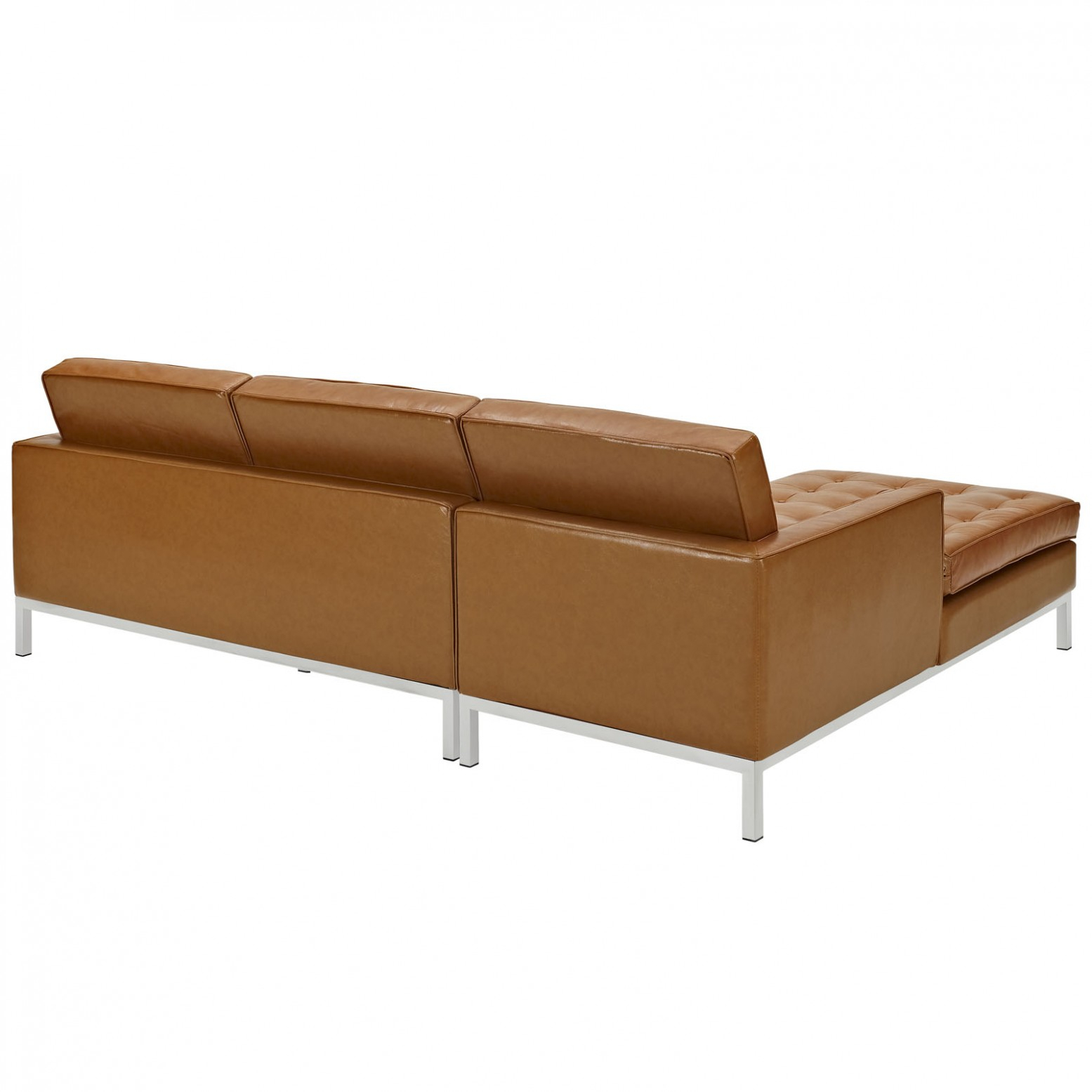 Loft Left Arm Leather Sectional Sofa, Tanmodway Furniture Pertaining To Loft Arm Sofa Chairs (Image 14 of 25)