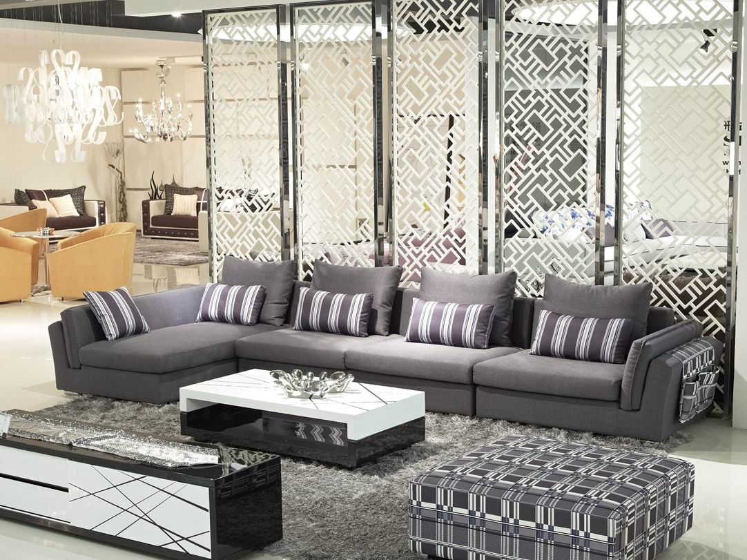 London Living Room Set S C Grey Chenille In Includes Sofa Chair Within London Dark Grey Sofa Chairs (Image 13 of 25)