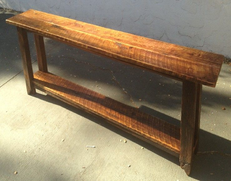 Long Narrow Console Table To Put Behind Sofa Against A Wall (Image 10 of 25)