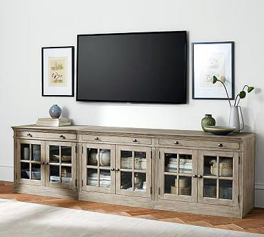 Long Tv Stand Pertaining To Perfectly Elegant Home Design Ideas Within Famous Century White 60 Inch Tv Stands (Image 15 of 25)