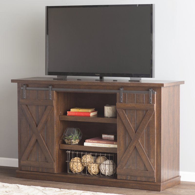 """Loon Peak Bluestone Tv Stand For Tvs Up To 60"""" & Reviews (Image 11 of 25)"""