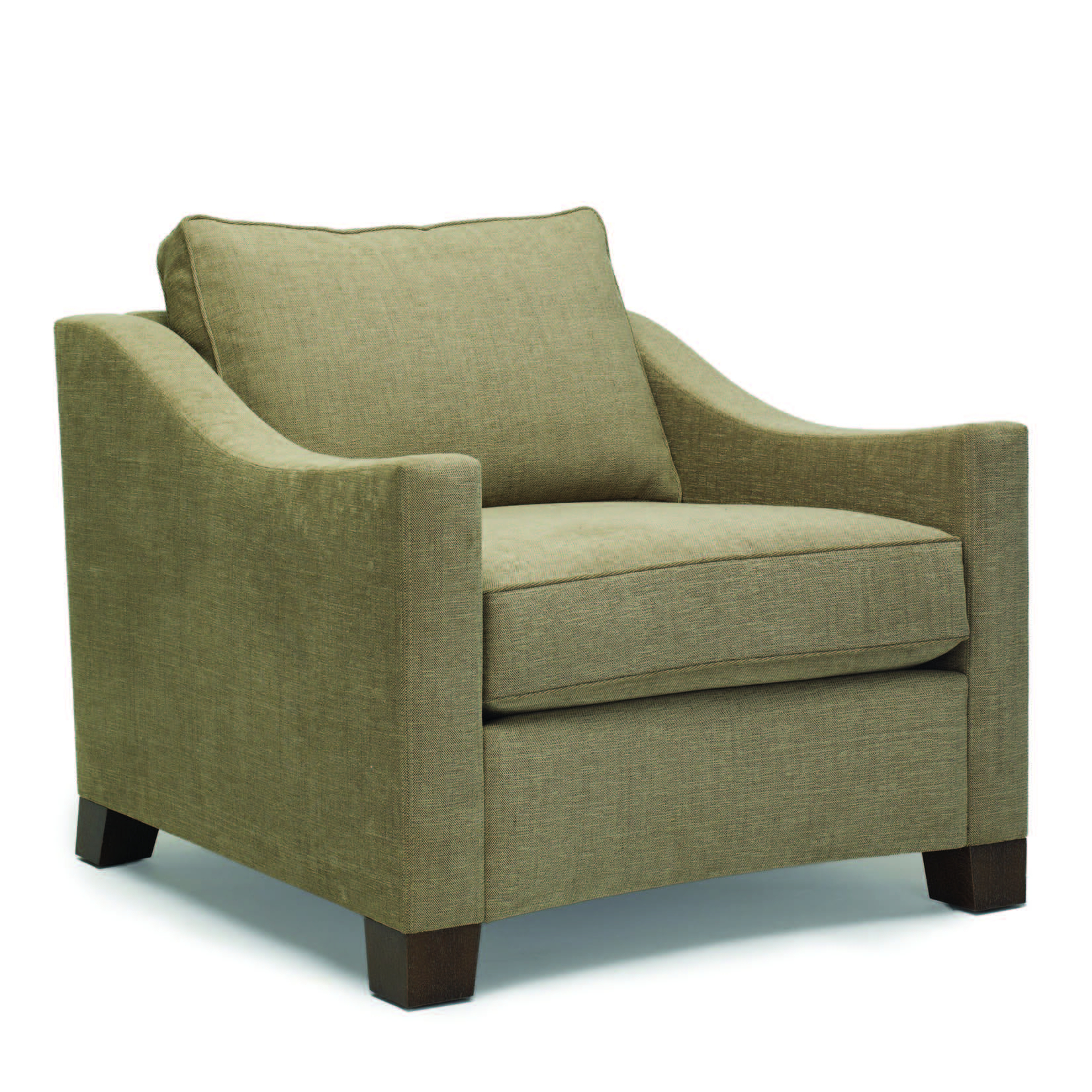 Lounge & Occasional : Dennis Miller Associates Fine Contemporary In Bailey Angled Track Arm Swivel Gliders (View 7 of 25)