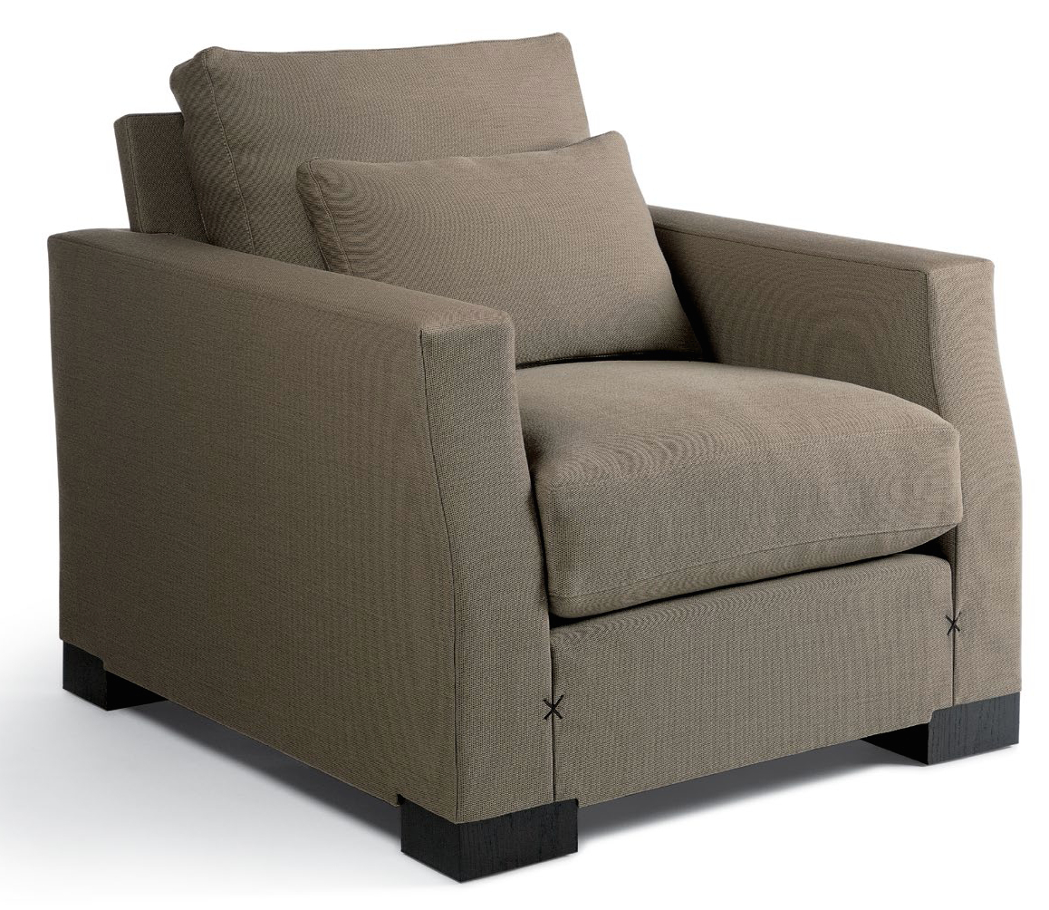 Lounge & Occasional : Dennis Miller Associates Fine Contemporary with regard to Bailey Angled Track Arm Swivel Gliders