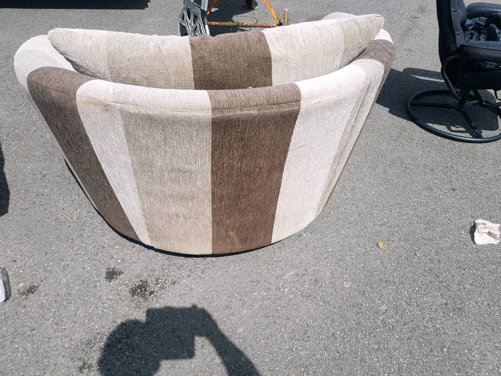 Love Chair Spinning Chair | In Mansfield, Nottinghamshire | Gumtree In Mansfield Beige Linen Sofa Chairs (Image 7 of 25)