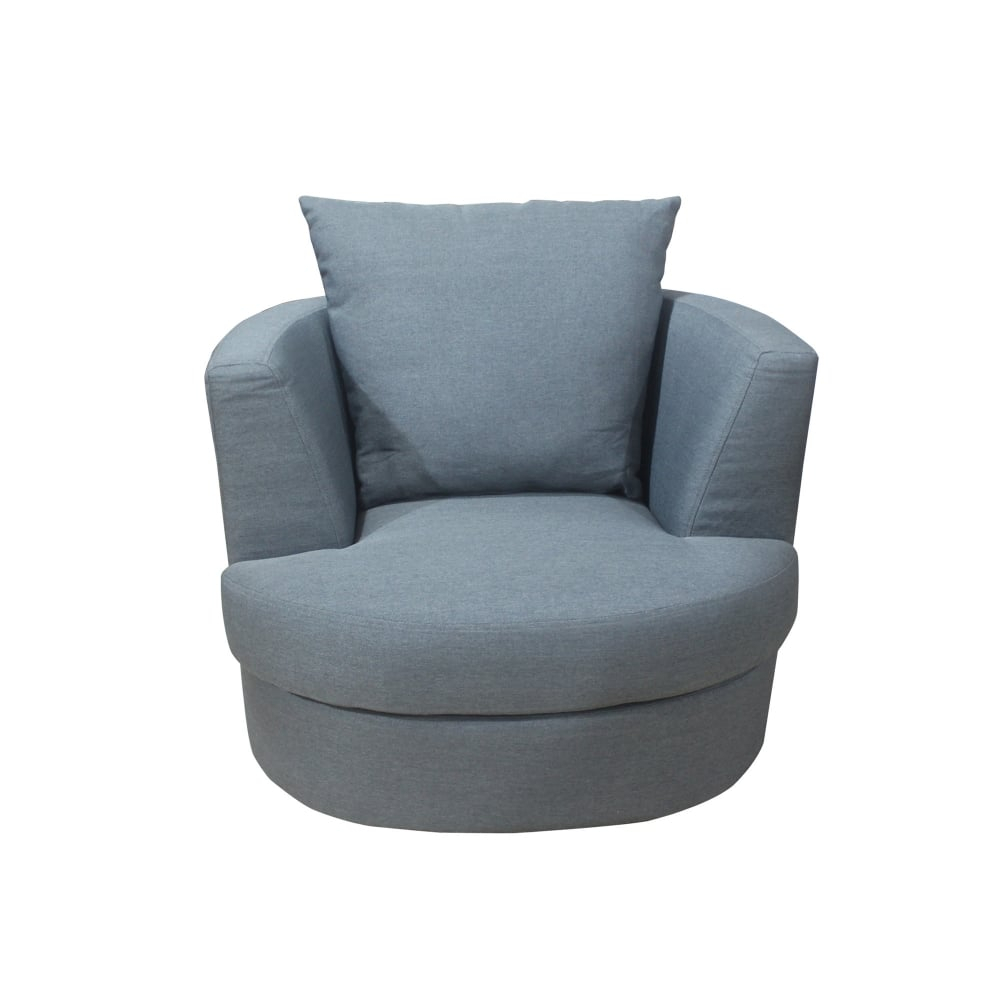 Lpd Furniture Bliss Grey Swivel Chair | Leader Stores In Grey Swivel Chairs (View 9 of 25)