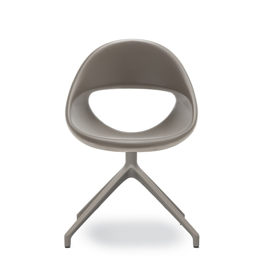 Lucky Swivel Dining Chair – Dark Grey Glassdomain.co (View 16 of 25)