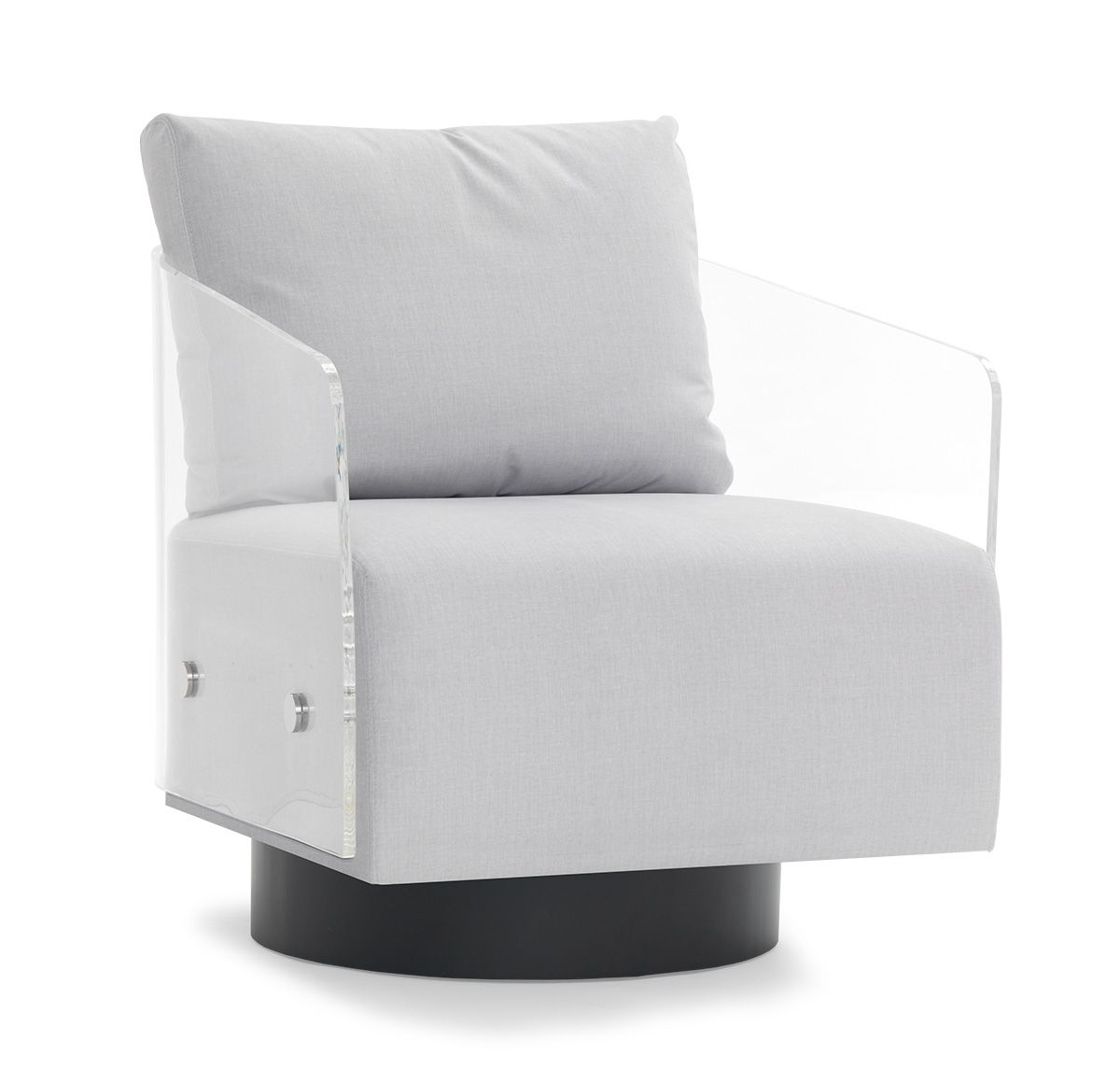 Lucy Clear Full Swivel Chair<Br>[Available Online And In Stores Throughout Nichol Swivel Accent Chairs (Image 11 of 25)