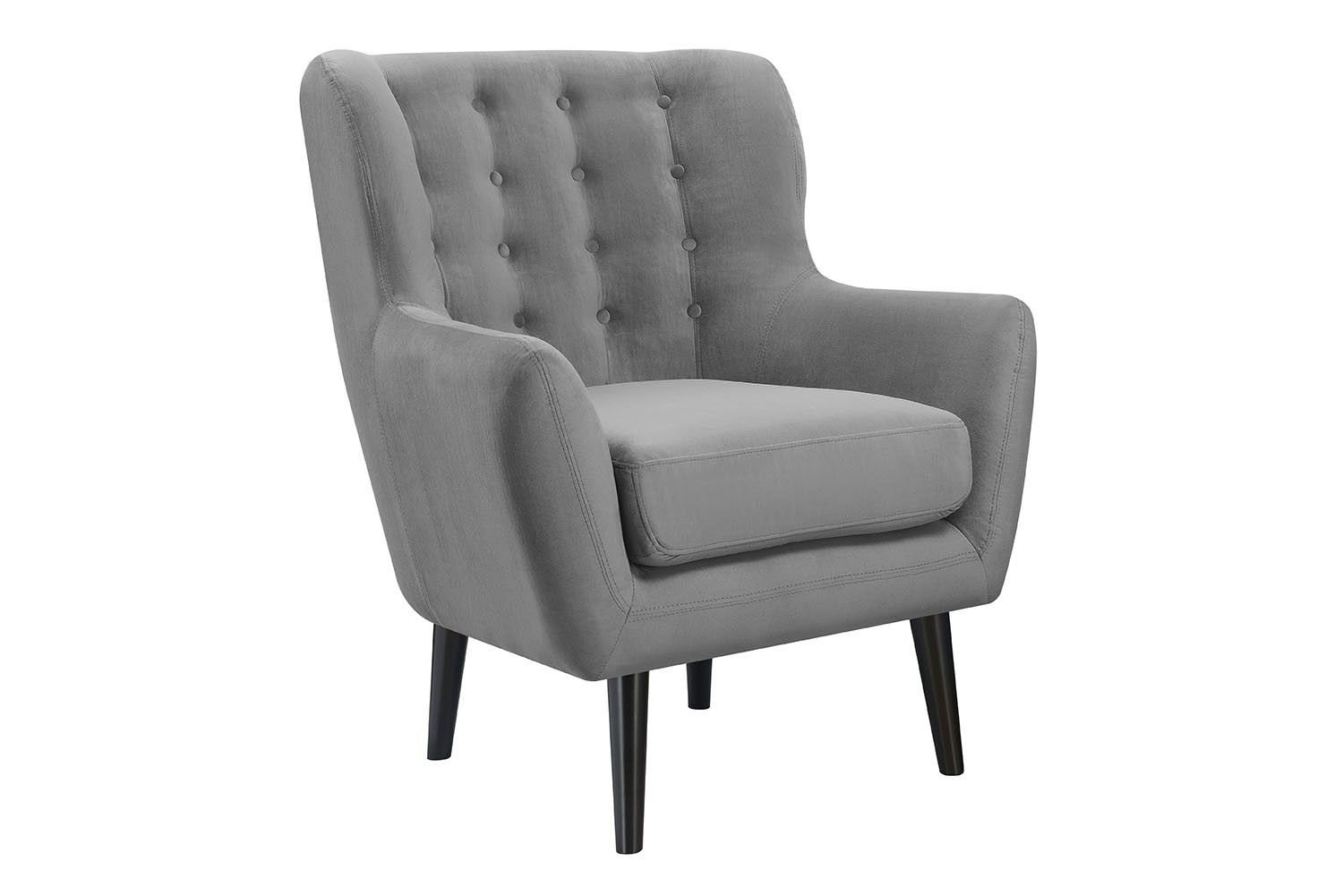 Lucy Gray Accent Chair | New Year's Sale On 500+ Products Inside Lucy Grey Sofa Chairs (Image 9 of 25)
