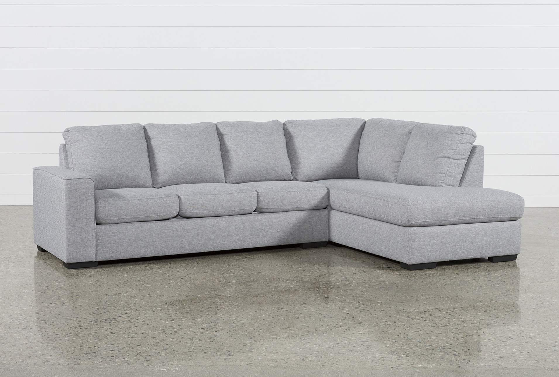 Lucy Grey 2 Piece Sectional W/raf Chaise In 2018 | Products In Lucy Dark Grey Sofa Chairs (View 2 of 25)