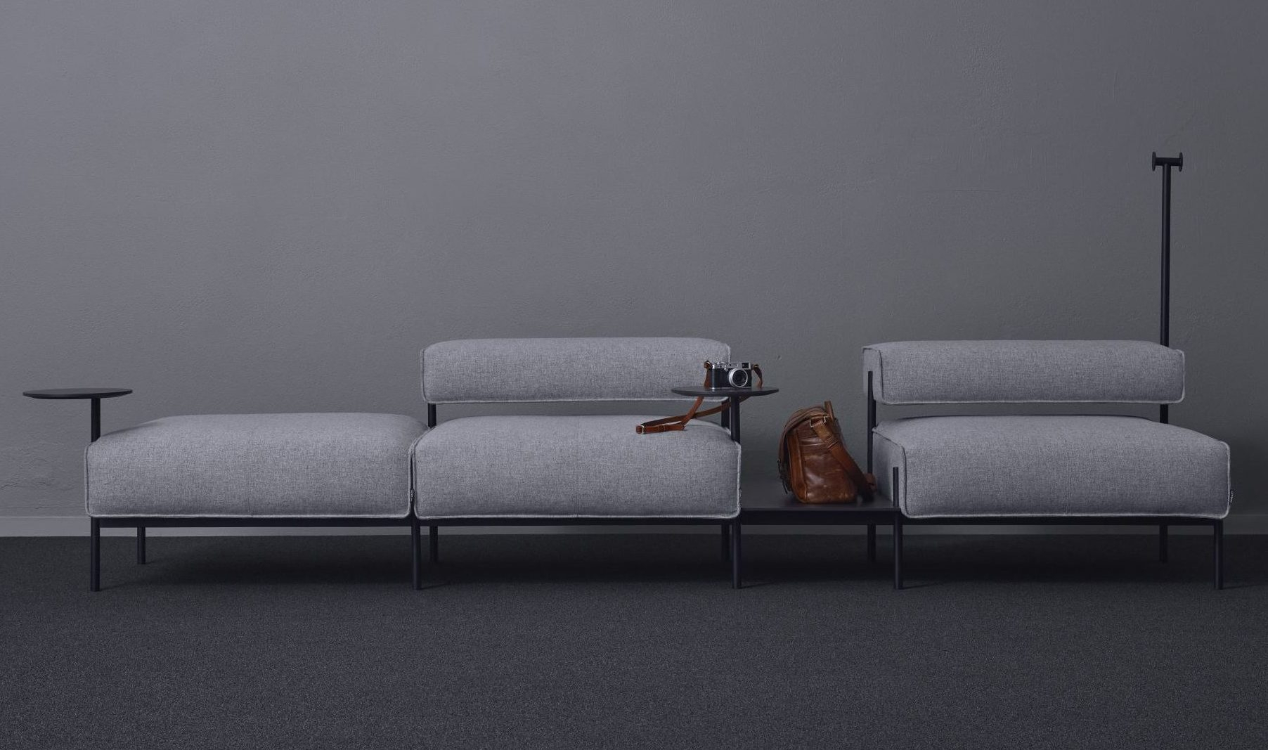 Lucy, H37/h73 | Offecct With Regard To Lucy Grey Sofa Chairs (Image 19 of 25)