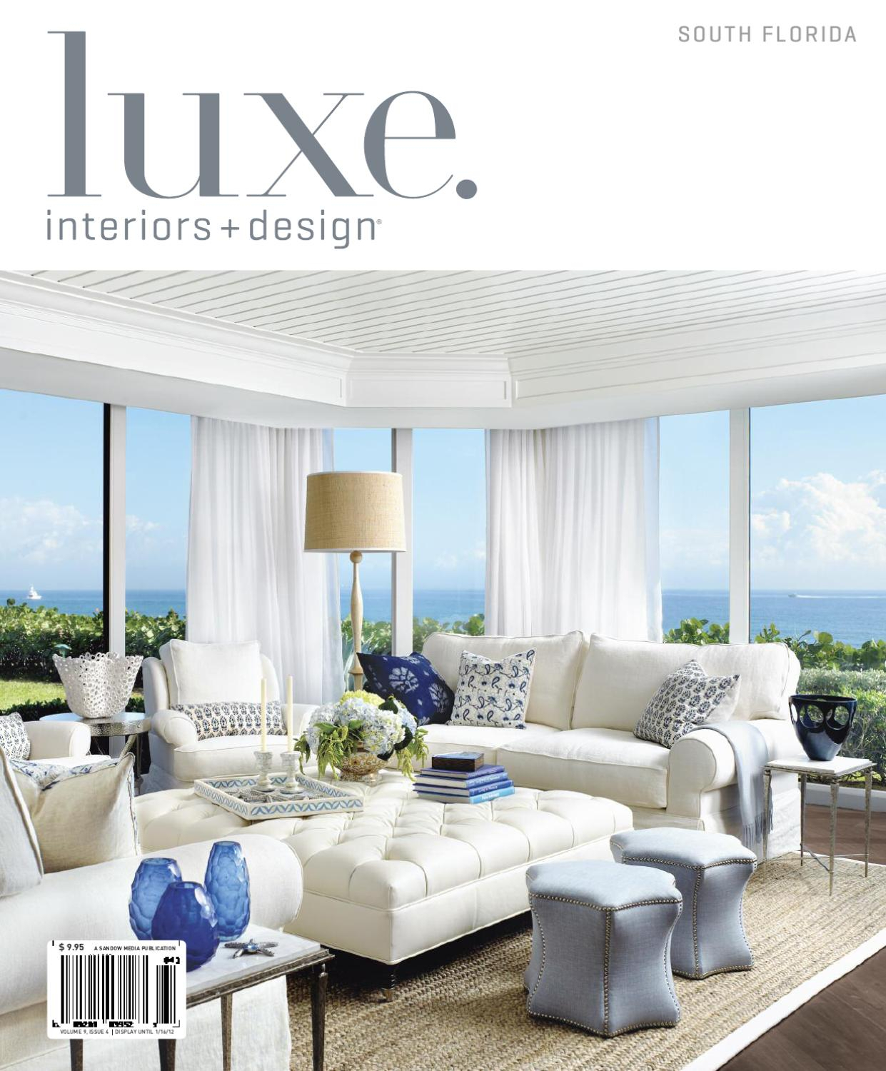 Luxe Interiors + Design Florida 12Sandow Media – Issuu For Gannon Truffle Power Swivel Recliners (View 15 of 25)