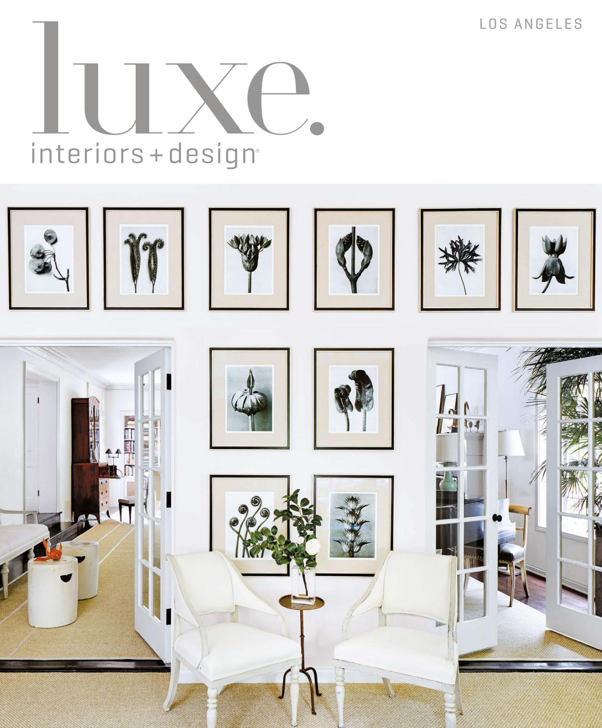 Luxe Magazine March 2017 Los Angelessandow® – Issuu Intended For Chadwick Tomato Swivel Accent Chairs (View 8 of 25)