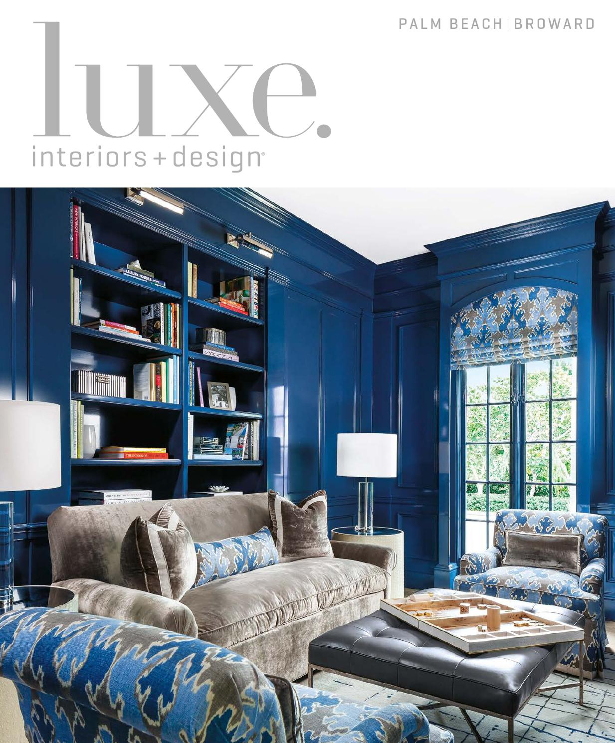 Luxe Magazine November 2015 Palm Beachsandow® – Issuu Throughout Chadwick Tomato Swivel Accent Chairs (View 12 of 25)