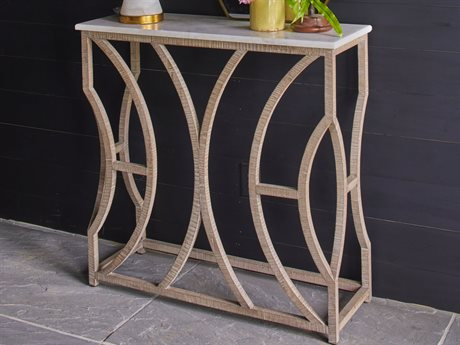 Luxedecor For Favorite Parsons White Marble Top & Stainless Steel Base 48X16 Console Tables (Image 10 of 25)