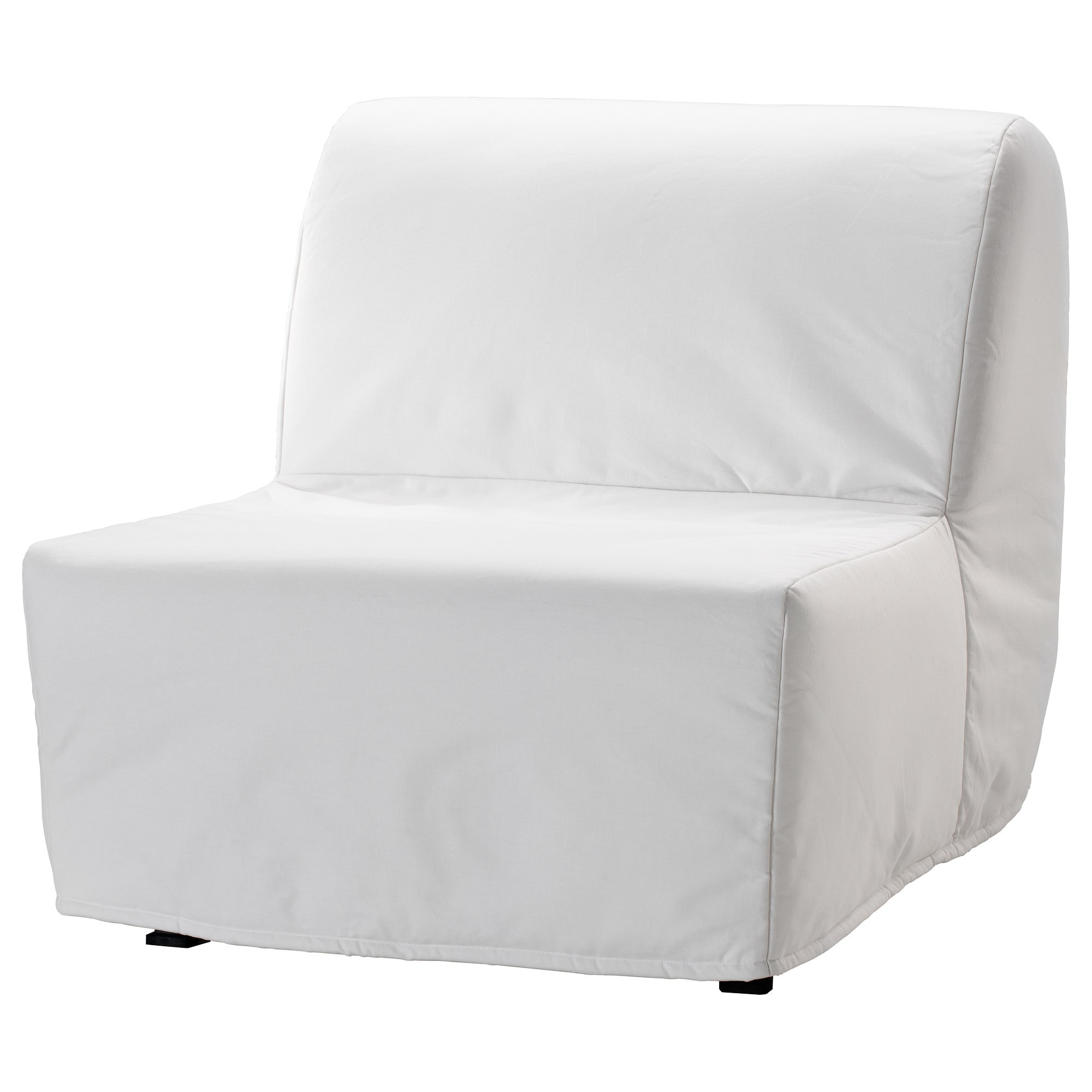 Lycksele Lövås Chair Bed Ransta White – Ikea Inside Ikea Sofa Chairs (View 12 of 25)