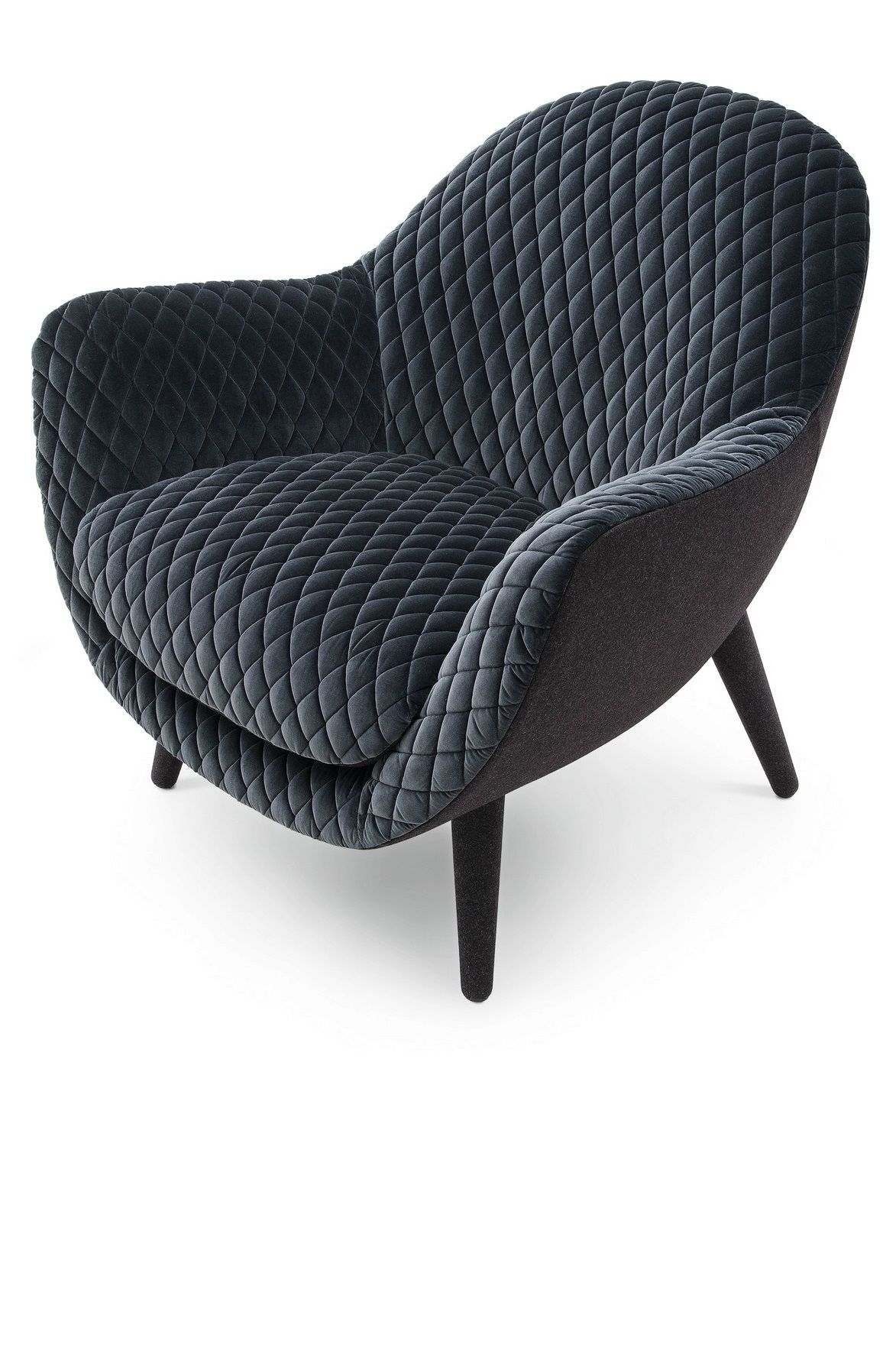Mad Queen Chairmarcel Wanders For Poliform In Matelasse Gibson Regarding Gibson Swivel Cuddler Chairs (View 13 of 25)