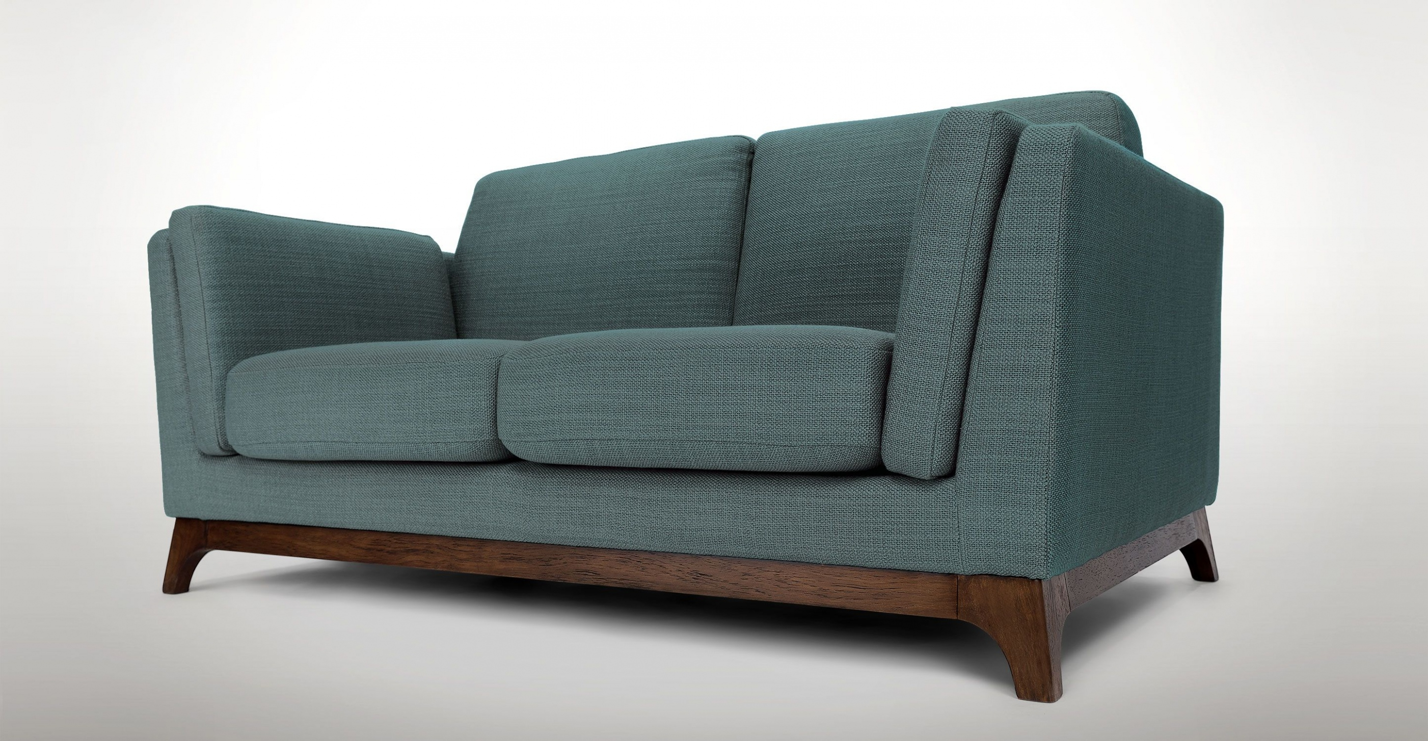 Madison Mid Century Modern Sofa Living Room Furniture Assorted In Aquarius Dark Grey Sofa Chairs (View 22 of 25)