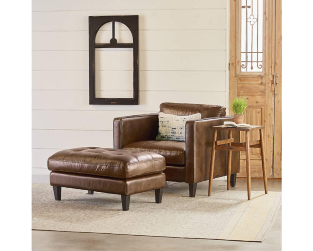 Magnolia Home 55520162 Coffee Dapper Chair At Sutherlands In Magnolia Home Dapper Fog Sofa Chairs (Image 9 of 25)