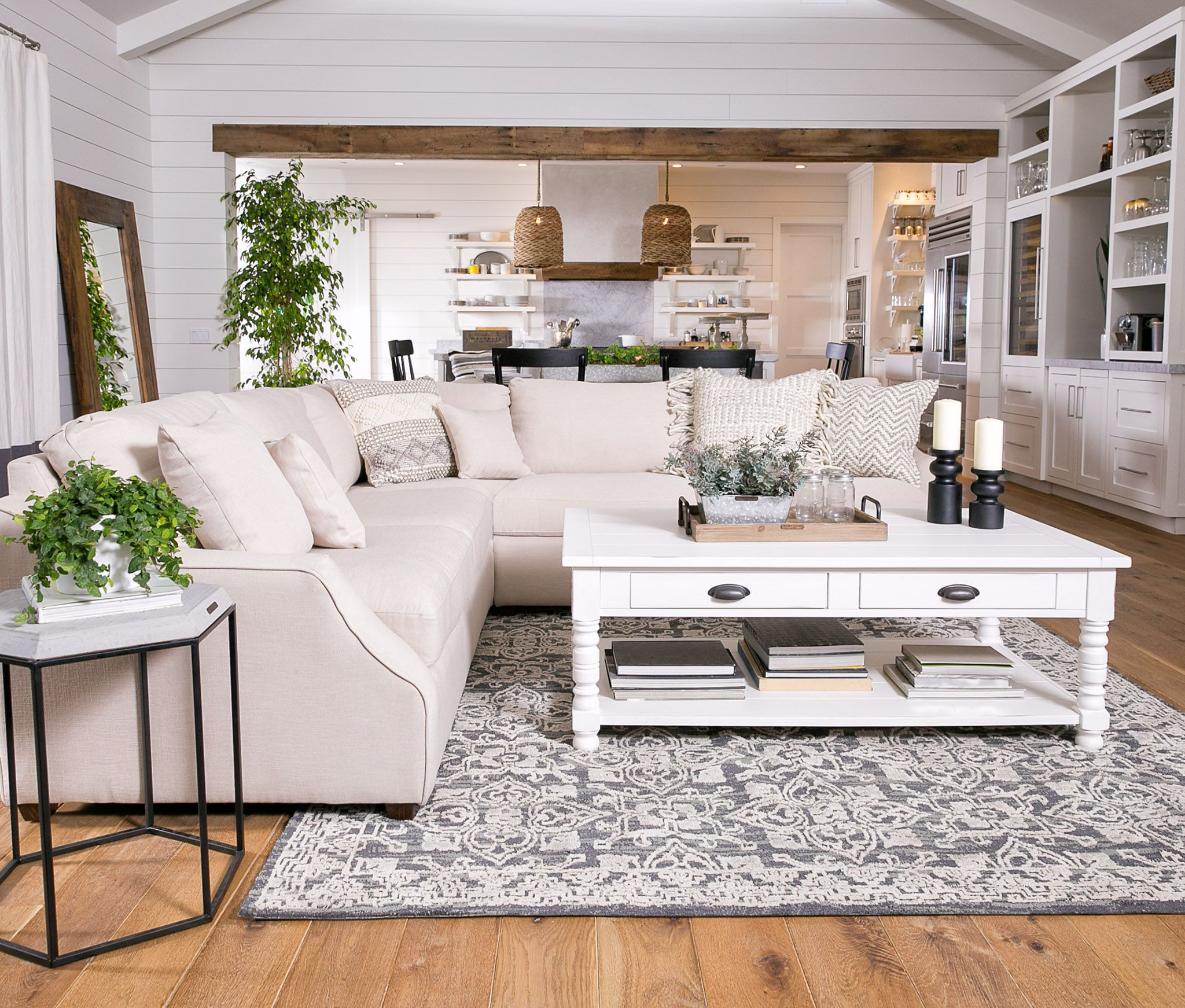 Magnolia Home Homestead 3 Piece Sectionaljoanna Gaines In 2019 With Magnolia Home Homestead Sofa Chairs By Joanna Gaines (Image 13 of 25)