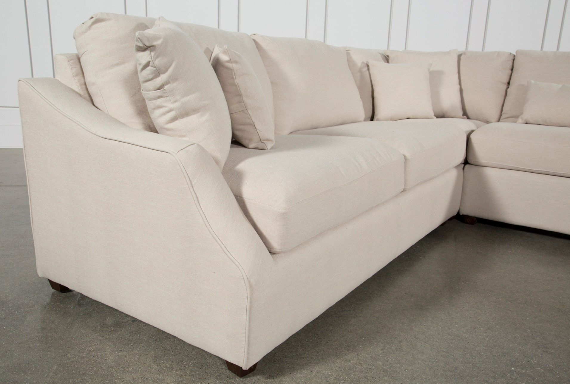 Magnolia Home Homestead 3 Piece Sectionaljoanna Gaines | Joanna Inside Magnolia Home Homestead Sofa Chairs By Joanna Gaines (Image 12 of 25)