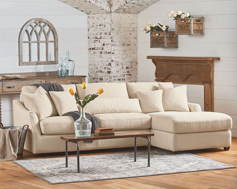 Magnolia Home Homestead + Rustic Plank – Knoxville Wholesale Furniture Throughout Magnolia Home Homestead Sofa Chairs By Joanna Gaines (Image 10 of 25)
