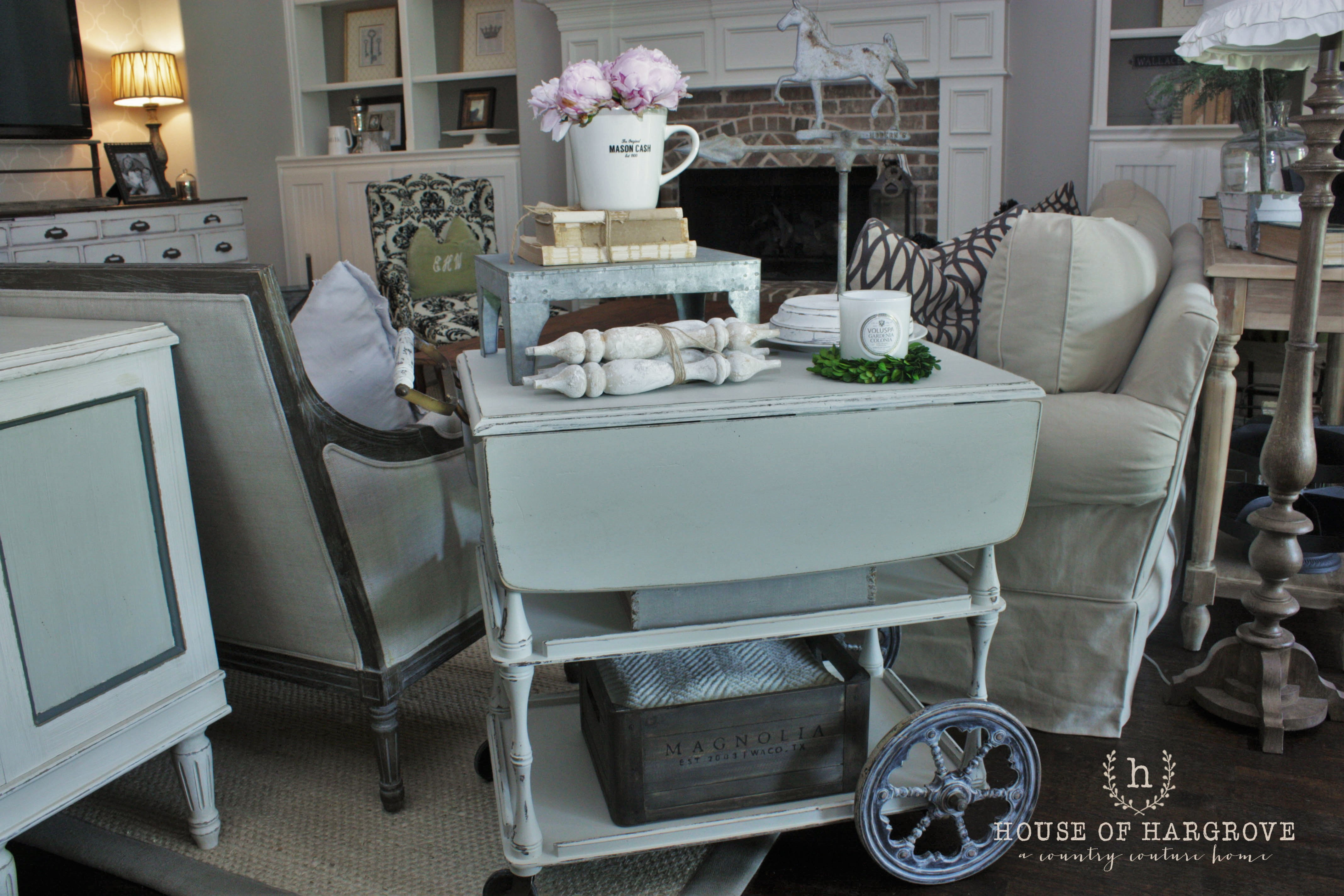 Magnolia Home Paint Review – House Of Hargrove For Magnolia Home Ravel Linen Sofa Chairs (Image 14 of 25)