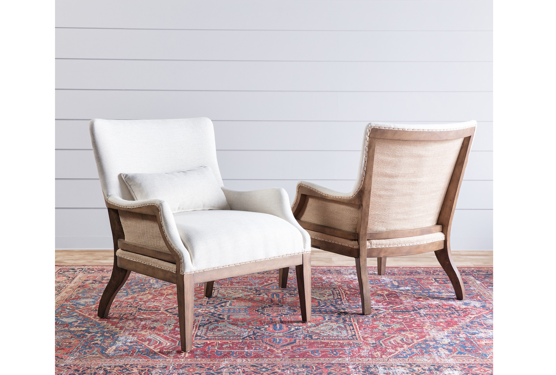 Magnolia Home Renew Ivory Accent Chairjoanna Gaines | Products Throughout Magnolia Home Paradigm Sofa Chairs By Joanna Gaines (View 13 of 25)