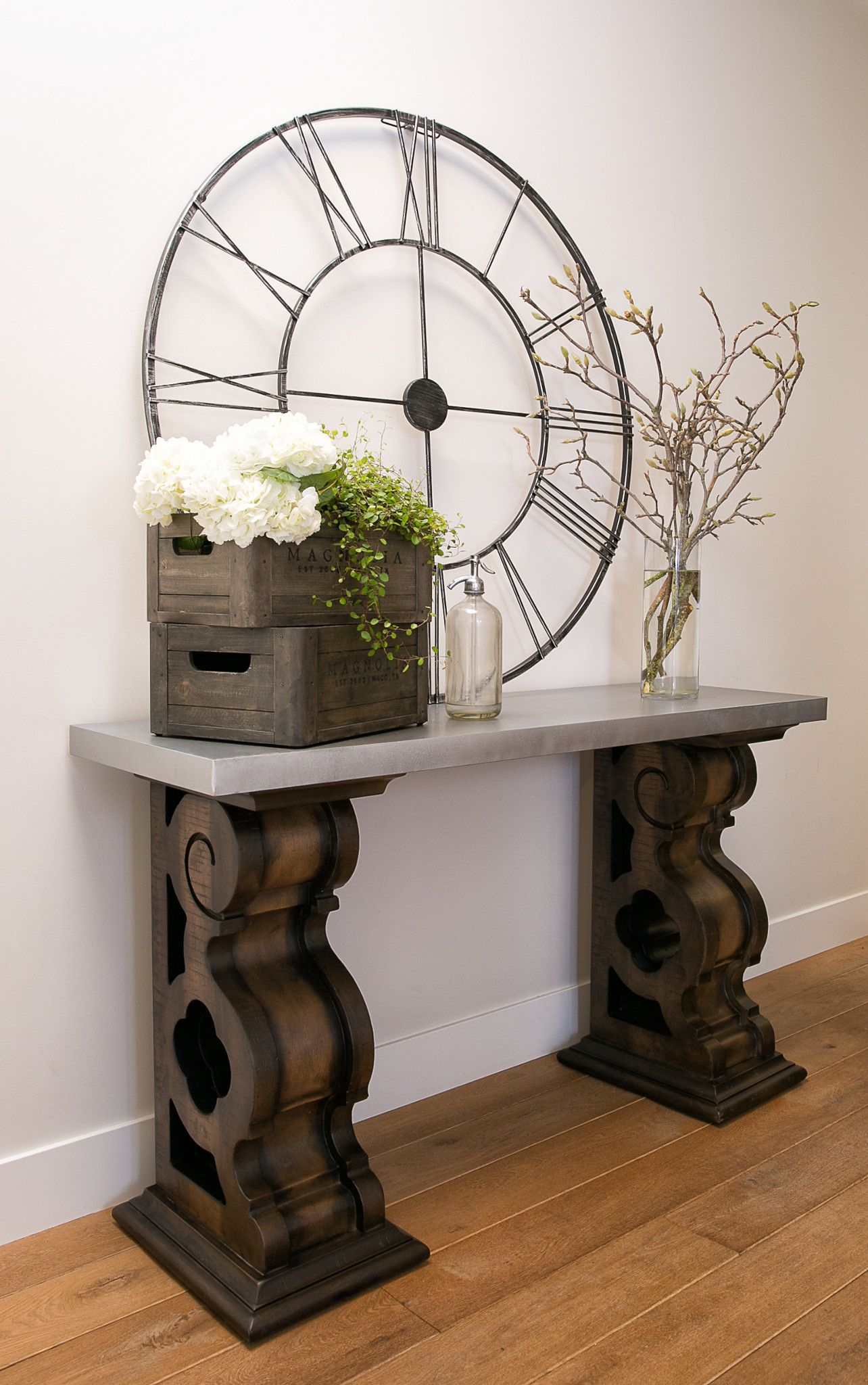 Magnolia Homejoanna Gaines – Double Pedestal Sofa Table With In Magnolia Home Ravel Linen Sofa Chairs (View 17 of 25)