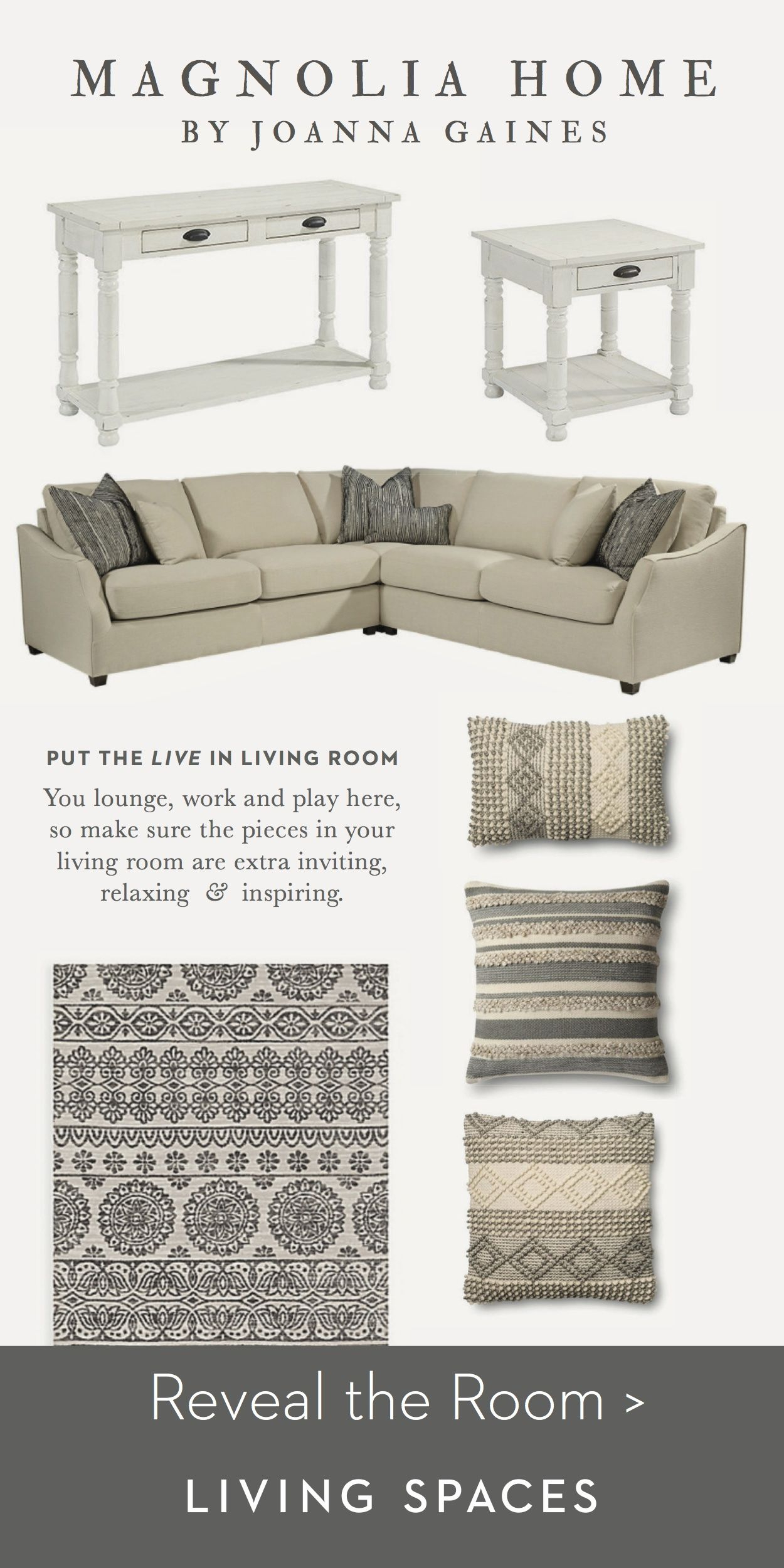 Magnolia Homejoanna Gaines| Living Room Inspiration (View 7 of 25)